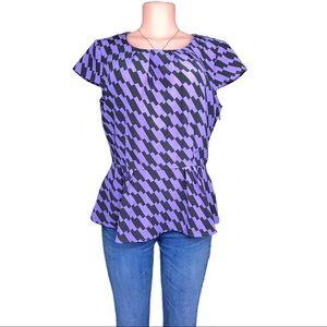 New York & company blouse shirt size M like new